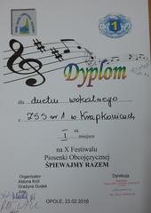 Galeria X Festiwal Piosenki Obcojęzycznej w Opolu