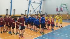 Galeria 3 miejsce w półfinale wojewódzkim w koszykówce chłopców