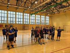 Galeria 3 miejsce w półfinale wojewódzkim w piłce ręcznej chłopców Igrzyska Młodzieży Szkolnej