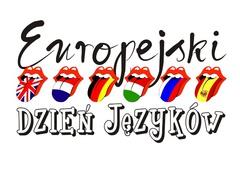 Logo europejskiego dnia jęzków obcych.