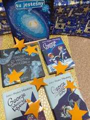 Książki o kosmosie.