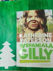 """Okładka książki """"Wspaniała Gilli""""."""