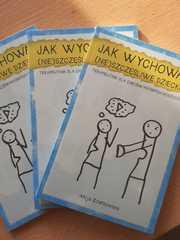 """Książka pod tytułem""""Jak wychowywać (nie) szczęśliwe dziecko? Terapeutnik dla (nie)świadomych rodziców""""."""