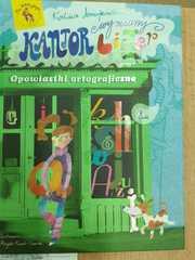 Książka z opowiadaniami ortograficznymi.