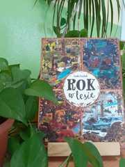 """Książka """"Rok w lesie""""."""