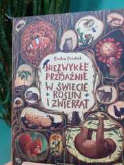 Książka o przyjaźni w świecie roślin i zwierząt.