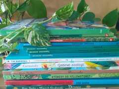 Książki o przyrodzie.