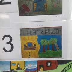 3 miejsce - Natalia Burczak klasa 6a.