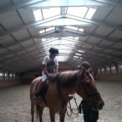 Przejażdżka na koniu