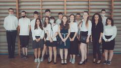 Zakończenie klasy 8b.