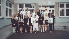 Zakończenie klasy 8a.