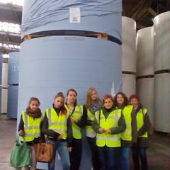 Galeria Wycieczka do zakładów papierniczych Metsa Tissue w Krapkowicach