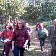 Galeria Biologia- Wycieczka po lesie